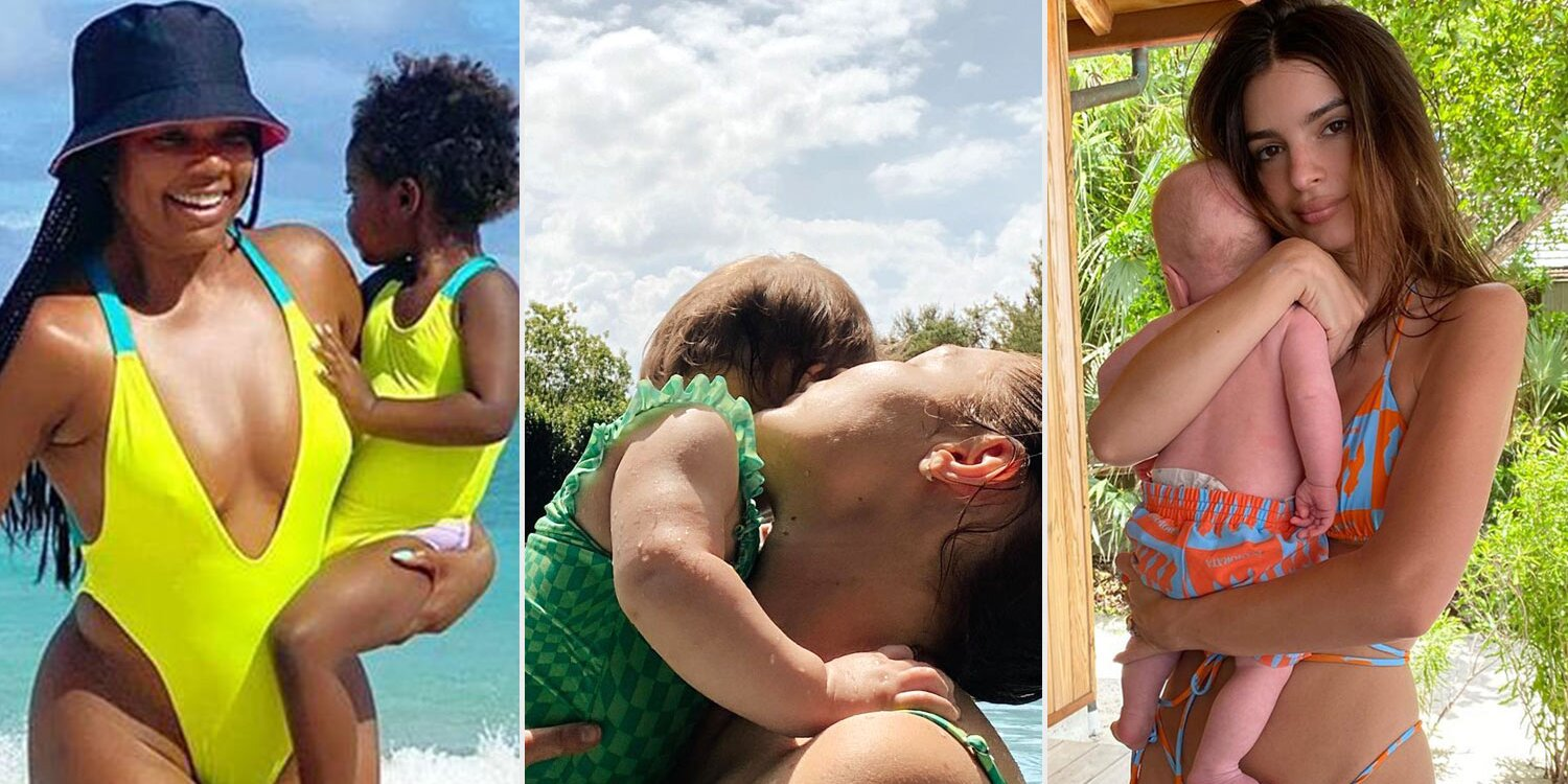 celebrities-and-their-kids-wearing-matching-swimsuits