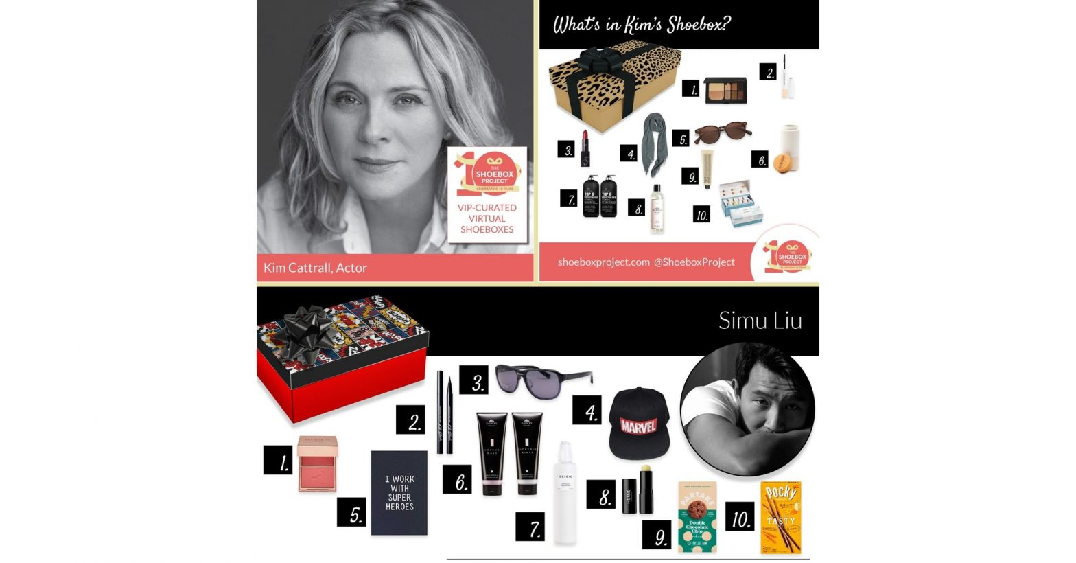 the-shoebox-project-celebrates-10-years-with-10-celebrity-curated-gift-shoeboxes-to-support-…