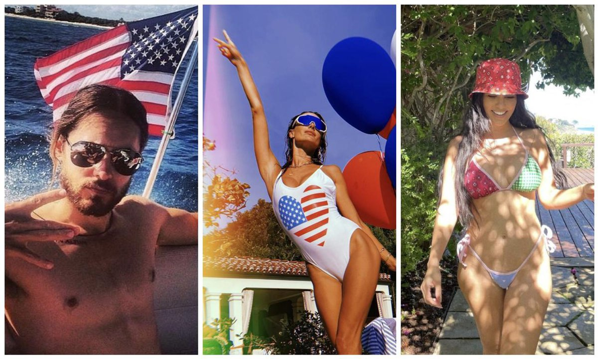 here's-how-celebrities-celebrated-july-4th