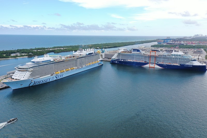 port-everglades-ready-for-double-ship-day-for-royal-caribbean-and-celebrity